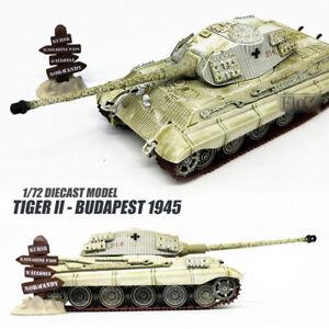 Tiger II - Budapest 1945 1/72 diecast tank model ATLAS