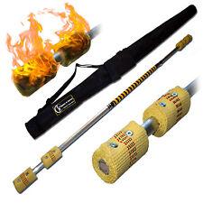 Flames 'N Games Fire Staff 1.4m / 4x65mm wicks+FREE Bag