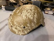 Airsoft Tactical Helmet - Digital Desert Camo, Tan