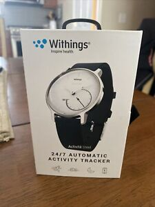 Withings 24/7 Automatic Activity Tracker Activite Steel Water-Resistant FitnessN