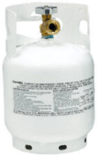 Manchester 10054.3 5 lb Steel LP Propane Tank w QCC1 Valve & Overfill Device