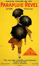 Original Vintage Poster Parapluie Revel by Leonetto Cappiello Umbrella 1920