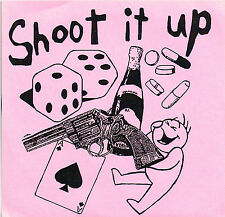 "SHOOT IT UP_6 track 7"" E.P. indie KBD punk RARE MINT(black bars_broadway glass)"