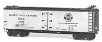 Tichy Train Group Six Pack 40' PFE Reefers Kit HO Scale New