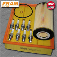 SERVICE KIT BMW 5 SERIES 540I E39 FRAM OIL AIR FILTERS NGK PLUGS (1996-2004)