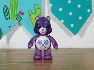 Care Bears Share Purple Collectible Fun Figure Glitter Edition Just Play Brand 3