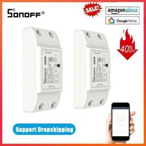 SONOFF BASIC R2 SMART HOME WIFI WIRELESS EWeLINK REMOTE VOICE CONTROL