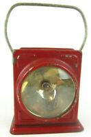 Antique Vtg 1910s Delta Buddy Lantern Railroad Mining Farm Flash light Primitive