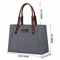 Fashion Women's Large Handbag Tote Shoulder Bag Work Office Satchel Bags Zipper
