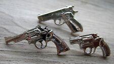 3 x WAFFEN Pin / Pins: 3 x Revolver Colt Automatic 45er als Pin Set