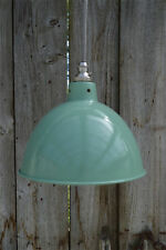Vintage green grey industrial small hanging light pendant ceiling lamp BL2SR4