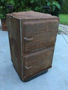 Antique Metal Conservo Toledo Ohio Canner Steamer Cooker Iowa Oven Box Cabinet