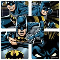 Batman Stickers x 5 - Glow in the Dark - Birthday Party Favours - Justice League
