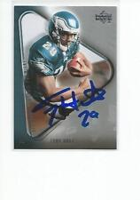 TONY HUNT Autographed Signed 2007 Upper Deck ROOKIE card Philadelphia Eagles