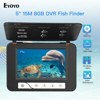 "Eyoyo 5"" 15M Underwater Video Camera with 8GB DVR Fish Finder + Bag Waterproof"