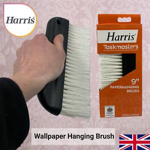 Harris Wallpaper Hanging Brush Wall Paste Smoothing DIY Decorating Smoother Tool