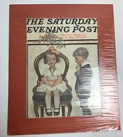 SATURDAY EVENING POST MAGAZINE DECEMBER 26,1908. J. C. LEYENDECKER COVER ONLY
