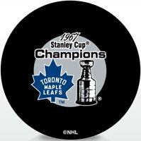 Toronto Maple Leafs 1967 Stanley Cup Champions Souvenir Hockey Puck