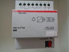 ABB EIB KNX UD/S 2.300.1 Universal-Dimmaktor 2fach, 2 x 300 W/VA,
