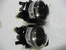 Genuine BMW E60 E61 M Sport PAIR Left Right Fog Lights 63177897187 63177897188
