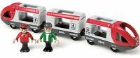 Brio TRAVEL TRAIN Baby/Toddler/Child Wooden Carraiges & People Toy Train BN