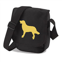 Flat Coated Retriever Bag Dog Walkers Shoulder Bags Birthday Mothers Day Gift
