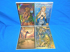 DARKCHYLDE #1 DF LOT DREAMS sKETCHBOOK LEGACY SUMMER PREVIEW RANDY QUEEN IMAGE