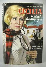 Cécilia Médecin de Campagne Gerard Sire Gautier Languereau Novel French HC DJ