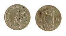 s1170_302) NETHERLANDS INDIES - INDIE OLANDESI 1/10 GULDEN  AG 1858