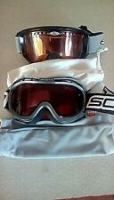 Smith & Scott Ski Snowboarding Goggles with cloth bags