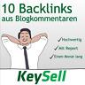 10 Backlinks aus deutschen Blogs | Seo Optimierung | Backlinkaufbau | per Hand