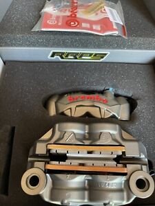 BREMBO GP4-RS 108mm Cast Radial Monoblock Calipers with Brake Pads + spacer kit
