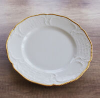 ROSENTHAL Sanssouci Eßteller Goldrand Porzellan weiß