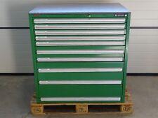 H&K Schubladenschrank Werkzeugschrank gefüllt mit 1100 Fräsern für Fräsmaschine