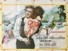 Catch Me a Spy Original Movie Quad Film Poster 1971 Kirk Douglas Putzu Art