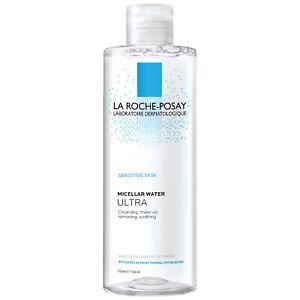 LA ROCHE POSAY Micellar Water ULTRA 400ml (LARGE) for Sensitive Skin - ✅UK Stock