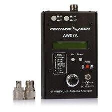 CFSZ DIY AW07A HF/VHF/UHF 160M Impedance SWR Antenna Analyzer For Ham Radio