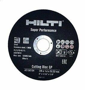HILTI Trennscheiben 125mm Flexscheiben AC D 125 Inox Edelstahl 10-1000 Stück