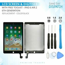 LCD TOUCH SCREEN REPLACEMENT FOR iPAD 6 6th GEN AIR 2 DISPLAY & DIGITISER BLACK