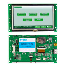 5.0 Inch Smart HMI TFT LCD Panel with Serial Interface+Controller Board