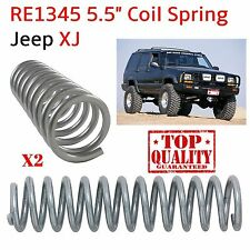 "Top Quality Rubicon Express RE1345 5.5"" Coil Spring for Jeep XJ - Pair"