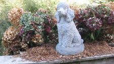 Concrete Poodle Statue