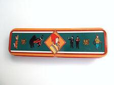 Boite plumier en métal Tintin  ETAT STRICTEMENT NEUF Matériel scolaire