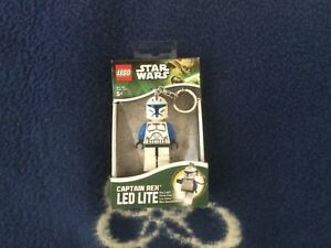 Lego Star Wars Captain Rex Key Light LED Lite Mini-Taschenlampe