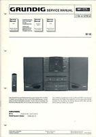 Grundig Service Anleitung Manual M 16  B810