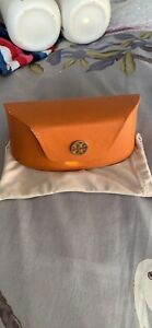 TORY BURCH SUNGLASSES CASE AND POUCH