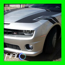 2010-2014 ORACLE CHEVY CAMARO CONCEPT SILVER ICE GHOSTED LED SIDE MARKERS 4PC
