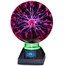PLASMAKUGEL 15cm Retro Plasmaball Party Deko Lichteffekt Plasma Lampe Leuchte