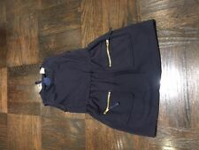 Girl's EGG navy dress with 2 front pockets, size 2 - great condition