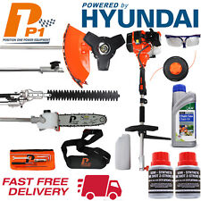 Multi Garden Tool Petrol Strimmer Chainsaw Hedge Trimmer 2x oil - 1x Chain Oil